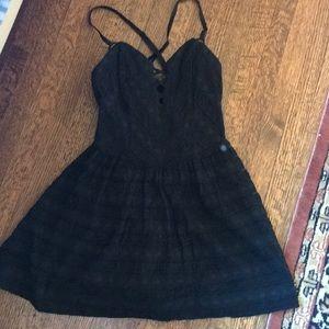 NWOT Lace Black Guess Sundress